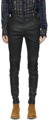 Frei Mut FREI-MUT Black Leather Duchamp Trousers