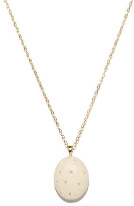 Cvc Stones Mignon Diamond & 18kt Gold Necklace - White