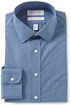 Roundtree & Yorke Gold Label Non-Iron Slim-Fit Spread Collar Solid Dress Shirt