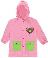 "Lilly New York Little Girls' ""Party Heart"" Rain Jacket"