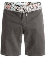 Quiksilver NEW QUIKSILVERTM Mens Street Trunk Yoke Cracked Walkshort Shorts