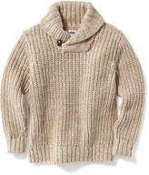 Old Navy Shawl-Collar Sweater for Toddler Boys