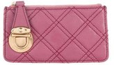 Marc Jacobs Quilted Leather Coin Purse