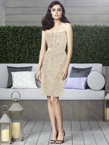 Dessy Collection - 2911IV Dress In Palomino