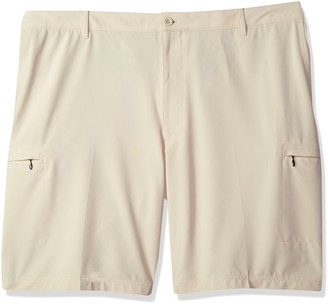 Izod Men's Big and Tall Golf Swingflex Cargo Short