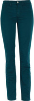 Denim 811 low-rise twill skinny jeans