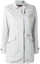 Woolrich long zip coat - women - Polyamide/Polyester - XS