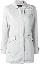 Woolrich long zip coat - women - Polyester/Polyamide - XS