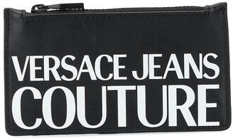 Versace Logo Print Cardholder