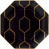 Wedgwood Arris Octagonal Side Plate - 23cm - Charcoal
