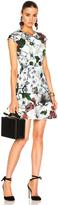 Erdem Darlina Yuki Garden Neoprene Jersey Dress