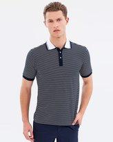 Cerruti Horizontal Striped Polo Shirt