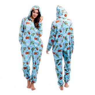 Body Candy Womens Soft Hoodie Plush Onesie Critters SO Deerly