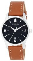 Victorinox Men's Alliance Large Leather Watch