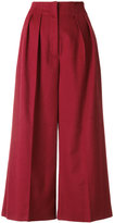 Max Mara wide leg cropped pants