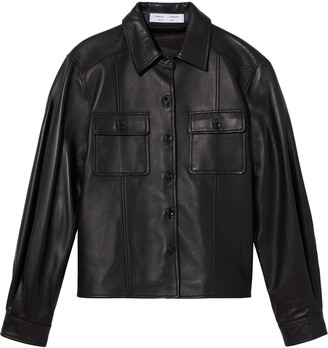 Proenza Schouler White Label Lightweight Leather Jacket