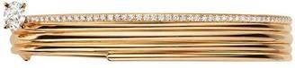 Repossi 18kt rose gold Blast diamond bangle