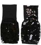 Mes Demoiselles sequin embellished gloves