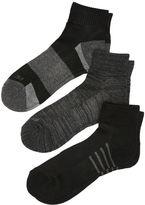 Perry Ellis 6 Pack Cool Performance Quarter Socks