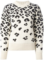 Joseph leopard print sweater