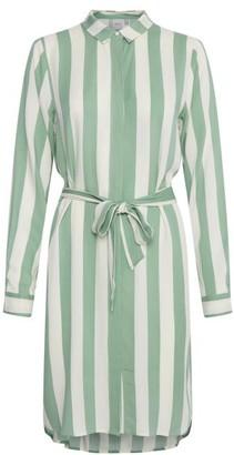 Ichi Ihcatarina Dr2 Dress - viscose   mint green   White   L . - Mint green