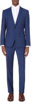 HUGO BOSS 120's slim-fit wool suit