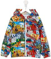 Dolce & Gabbana Italia is Love windbreaker jacket - kids - Polyester - 10 yrs