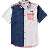 Columbia PFG Super Harborside Tri-Short Sleeve Woven Shirt