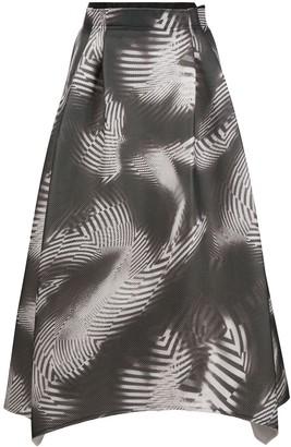 Stefano Mortari Graphic Print Skirt