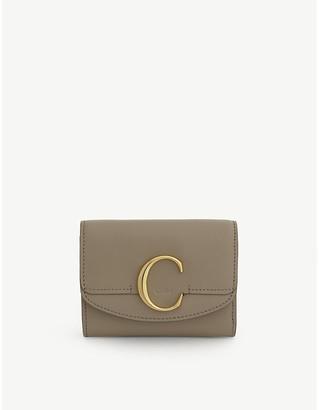 Chloé C leather purse
