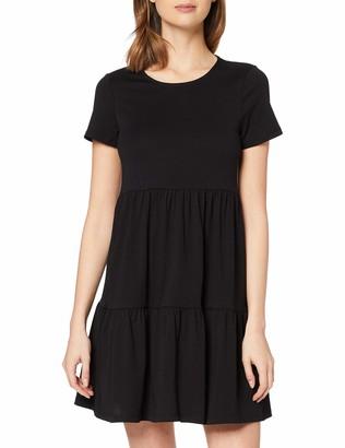 Dorothy Perkins Women's Black Smock T-Shirt Dress 12