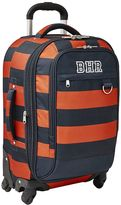Getaway Blue/Orange Rugby Stripe Carry-On Spinner
