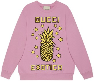 Gucci pineapple print sweatshirt