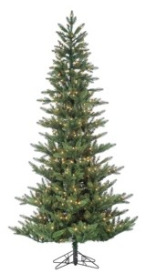 Sterling 7.5-Foot High Pre-Lit Natural Cut Austrian Pine Tree with Warm White Led Lights