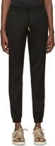 Saint Laurent Black Drawstring Jogger Trousers
