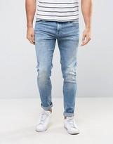 Pepe Jeans Pepe Nickel Skinny Fit Jean Indigo Oxide