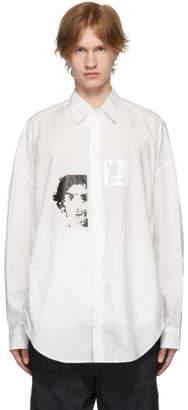 Julius White Graphic Shirt