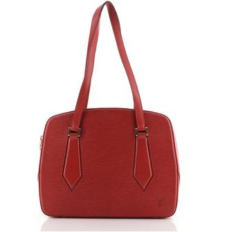 Louis Vuitton Voltaire Handbag Epi Leather