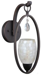 Berenice Darby Home Co Modern 1-Light Armed Sconce Darby Home Co Finish: Bronze