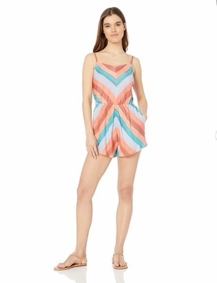 Lucky Brand Women's Swimwear Cover Up Romper