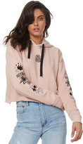 Stussy Voices Cut Off Hood Pink