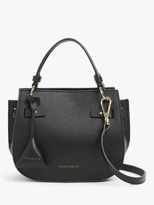 Coccinelle Didi Tumbled Leather Grab Bag