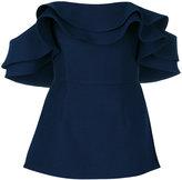 C/Meo strapless peplum top - women - Polyester - S