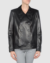 Snow From St Barth Leather outerwear