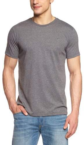 Cross Men's 10315 Crew Neck Short Sleeve T-Shirt - grey