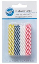Wilton Celebration Candles 2.5 in, 24 ct
