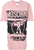 Moschino branded T-shirt - women - Cotton - XXS
