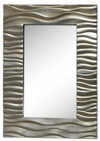 Lazy Susan 27.6 in. Silver Transcend Mirror