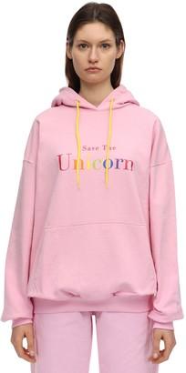 Irene Is Good Unicorn Cotton Sweatshirt Hoodie