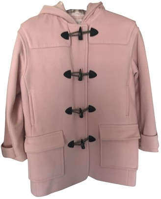 Paul & Joe Sister Pink Wool Coat for Women
